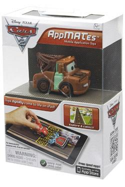 Cars 2 AppMATes-Figur Single Pack Mater