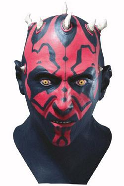 Star Wars Latex-Maske Darth Maul