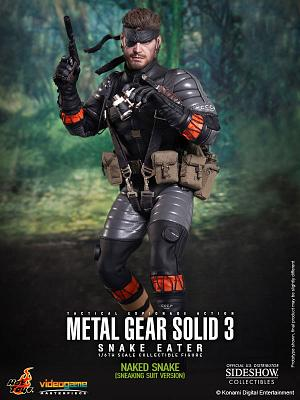Metal Gear Solid 3 Videogame Masterpiece Actionfigur 1/6 Naked S