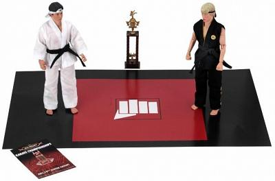 Karate Kid: 8 inch Clothed Action Figure - Tournament 2-Pack