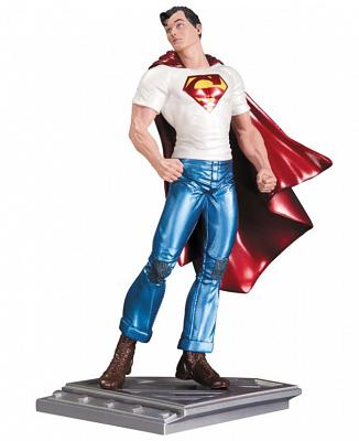 Superman The Man Of Steel Statue Rags Morales 17 cm