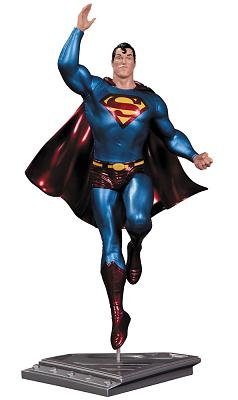 Superman The Man Of Steel Statue Frank Quitely 17 cm