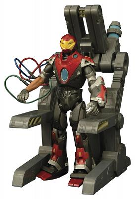 Marvel Select Actionfigur Ultimate Iron Man 18 cm