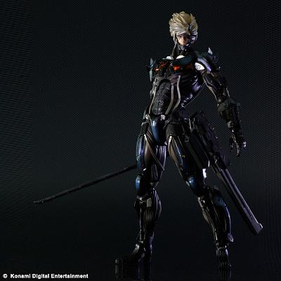 Metal Gear Rising Revengeance Play Arts Kai Actionfigur Raiden 2