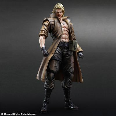 Metal Gear Solid Play Arts Kai Actionfigur Liquid Snake 28 cm
