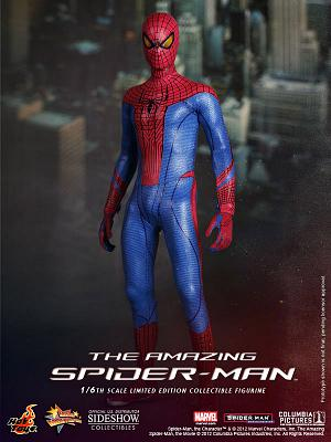 The Amazing Spider-Man Movie Masterpiece Actionfigur 1/6 Spider-