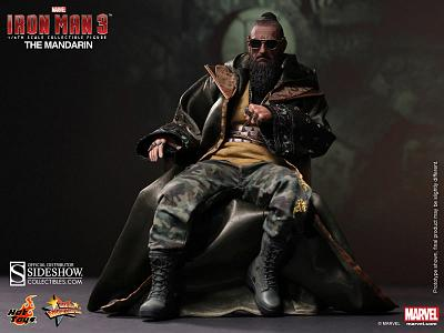 Iron Man 3 Movie Masterpiece Actionfigur 1/6 The Mandarin 30 cm