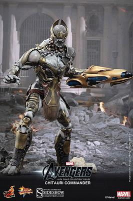 The Avengers Movie Masterpiece Actionfigur 1/6 Chitauri Commande