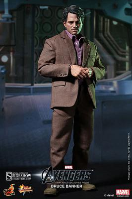 The Avengers Movie Masterpiece Actionfigur 1/6 Bruce Banner 30 c