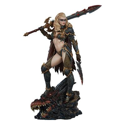 DRAGON SLAYER - Warrior Forged in Flame Statue (Sideshow)