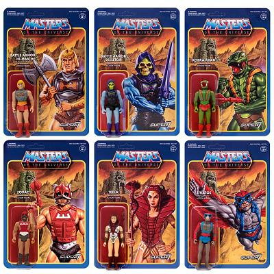 Masters of the Universe ReAction Actionfiguren 10 cm Wave 3 Sort