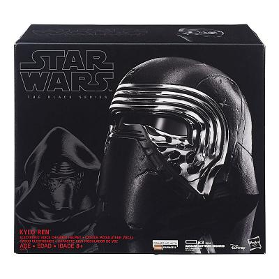 Star Wars Episode VII Black Series Elektronischer Helm Kylo Ren