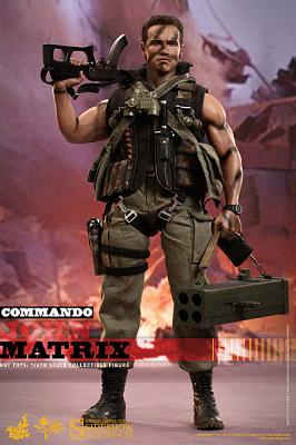 Phantom Kommando Movie Masterpiece Actionfigur 1/6 John Matrix 3