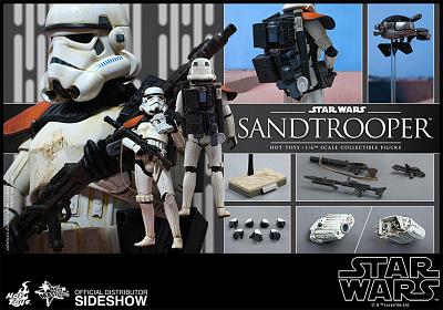 Star Wars Movie Masterpiece Actionfigur 1/6 Sandtrooper 30 cm