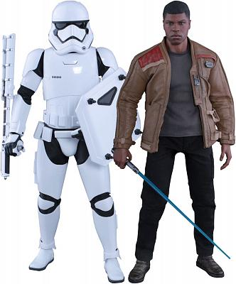 Star Wars Episode VII MMS Actionfiguren Doppelpack 1/6 Finn & Fi