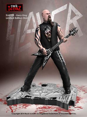 Slayer Rock Iconz Statue Kerry King 23 cm