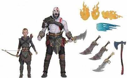 God of War 2018: Ultimate Kratos and Atreus - 7 inch Scale 2-Pac