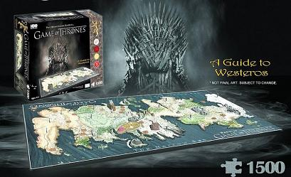 Game of Thrones: Westeros 4D Cityscape Puzzle