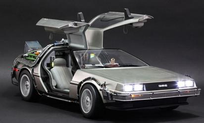 Hot Toys DeLorean Sixth Scale