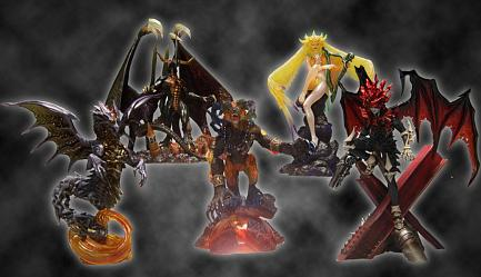Final Fantasy Creatures Kai Box Set Vol. 2 (5-pc box)