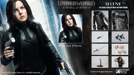 Underworld - Evolution: Blue Eyed Selene 1:6 Scale Figure