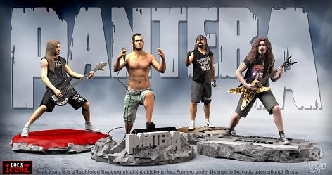 Rock Iconz: Pantera - 4 Piece Statue Set