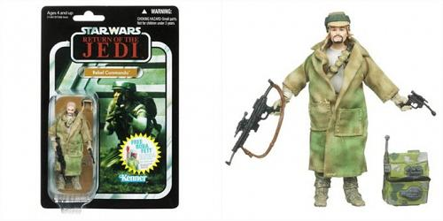 Hasbro Star Wars 2011 Vintage Rebel Commando