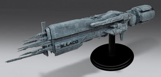 Aliens: USS Sulaco Large Scale Model