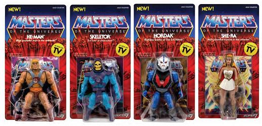 MOTU: Vintage Set of 4 - 5.5 inch Action Figures