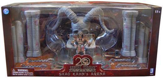Mortal Kombat Actionfiguren Box Set Shao Kahn Throne & Arena 20t