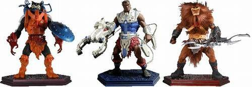 Masters of the Universe Serie 2 (3 Figuren)