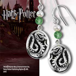 Harry Potter - Hogwarts House Earrings - Slytherin