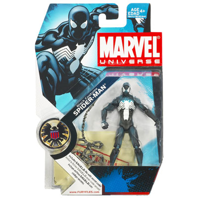 Marvel Universe: BLACK COSTUME SPIDER-MAN