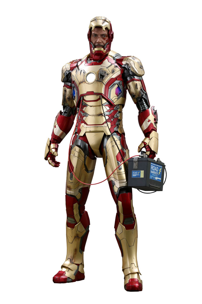 Iron Man 3 QS Series Actionfigur 1/4 Iron Man Mark XLII 51 cm